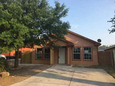 Laredo Single Family Home Active-Exclusive Agency: 519 Mohican Dr
