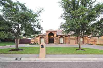 Laredo Single Family Home For Sale: 405 Jordan Dr