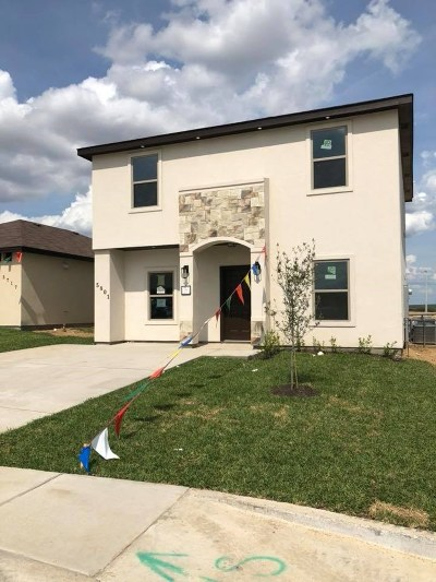 Laredo Single Family Home Active-Exclusive Agency: 5801 Moses Lp.