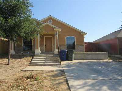 Laredo TX Single Family Home For Sale: $123,000
