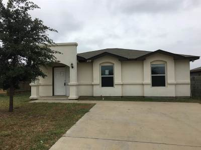 Laredo Single Family Home For Sale: 2505 Comales Dr