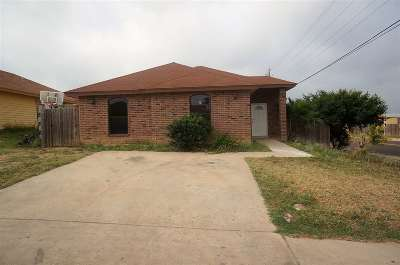 Laredo TX Single Family Home For Sale: $118,500