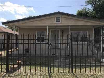 Laredo TX Single Family Home For Sale: $85,000