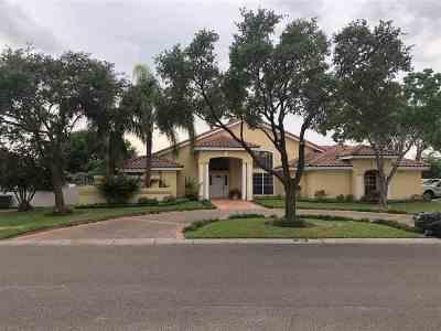 Laredo Single Family Home For Sale: 1010 Burke Dr
