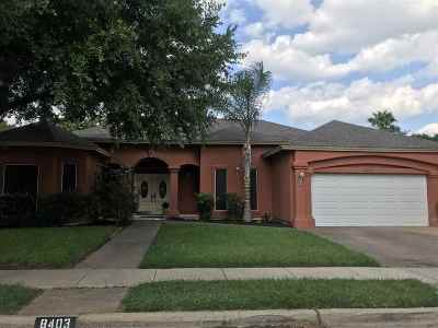 Laredo Single Family Home For Sale: 8403 Crownwoods Dr