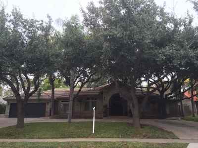 Laredo Single Family Home For Sale: 1318 Crosscountry Ln