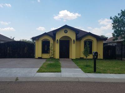 Laredo Single Family Home For Sale: 3224 Morelos Dr