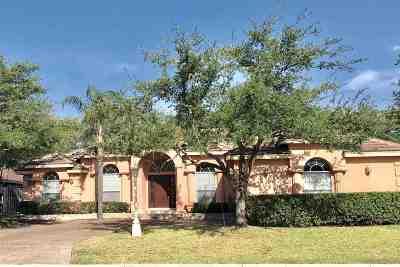 Laredo TX Single Family Home For Sale: $279,500