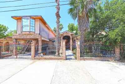 Laredo Single Family Home For Sale: 208 Mier St