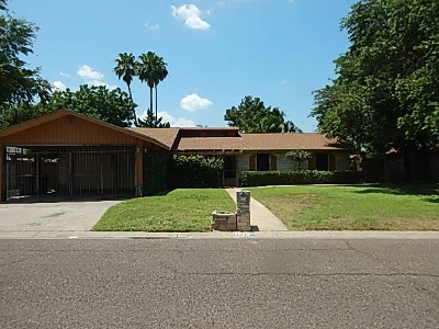 Laredo TX Single Family Home Back On Market: $195,000