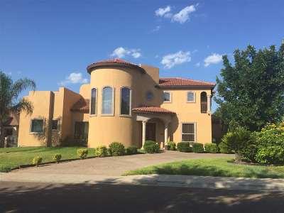 Laredo Single Family Home For Sale: 7501 R.w. Emerson Lp