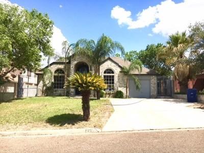 Laredo Single Family Home For Sale: 1423 Alameda Dr