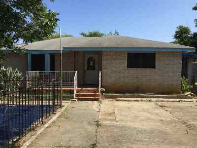 Laredo Single Family Home For Sale: 718 San Carlos St