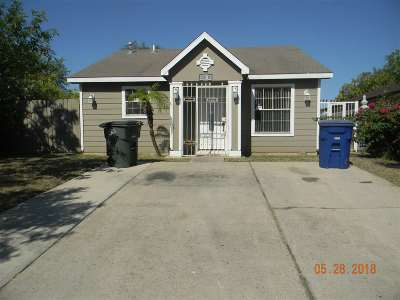 Laredo Single Family Home For Sale: 1408 Eisenhower Dr
