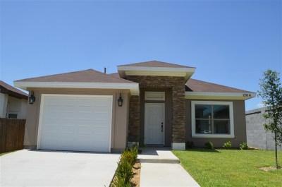 Laredo Single Family Home For Sale: 2314 Jean St