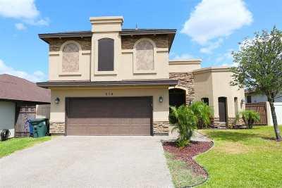 Laredo Single Family Home For Sale: 216 Desert Palm Dr.