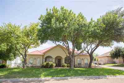 Laredo Single Family Home For Sale: 117 Cardinal Ln