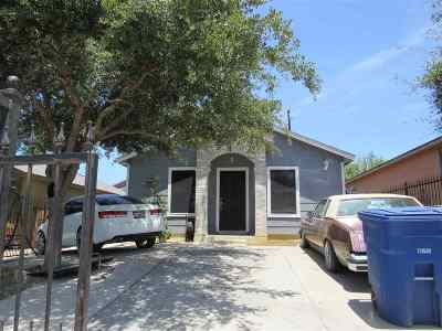 Laredo TX Single Family Home For Sale: $102,000