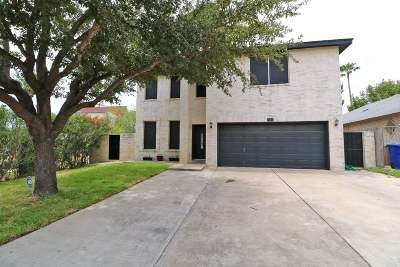 Laredo TX Single Family Home Back On Market: $199,000