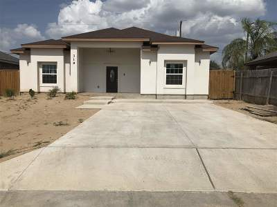 Laredo Single Family Home For Sale: 319 Lugo Ave