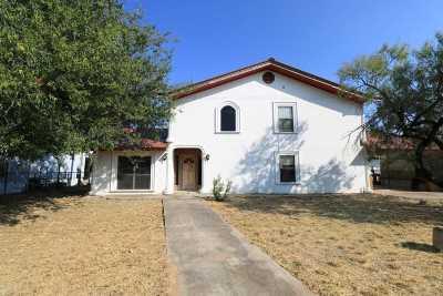 Zapata Single Family Home For Sale: 1310 Miraflores Ave