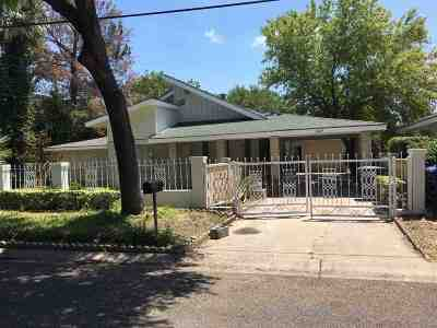 Laredo Single Family Home For Sale: 1807 Guerrero St