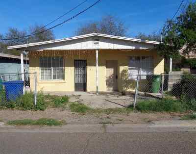Laredo TX Single Family Home For Sale: $63,000