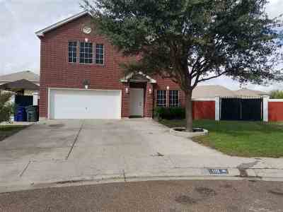 Laredo TX Single Family Home For Sale: $177,000