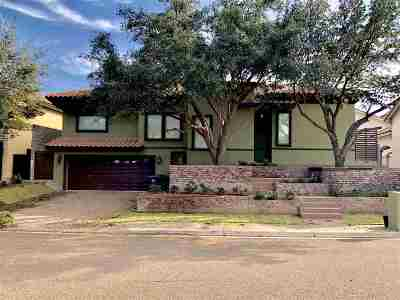 Laredo TX Single Family Home For Sale: $385,500