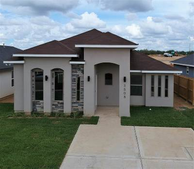 Laredo TX Single Family Home For Sale: $172,000