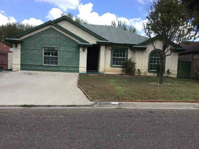 Laredo TX Single Family Home For Sale: $185,000