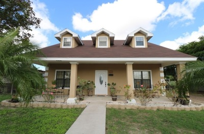Zapata Single Family Home For Sale: 1505 Guerrero Ave.