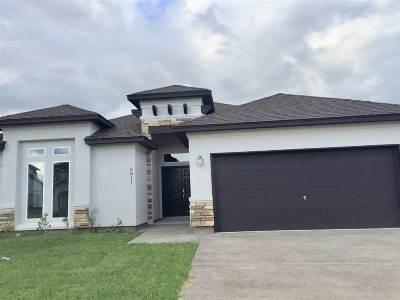 Laredo TX Single Family Home Active-Exclusive Agency: $247,000