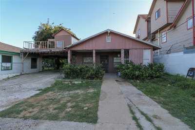 Laredo TX Single Family Home For Sale: $62,000