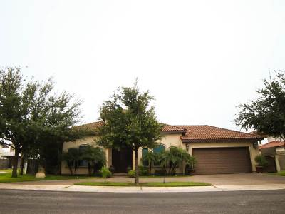 Laredo TX Single Family Home For Sale: $479,000