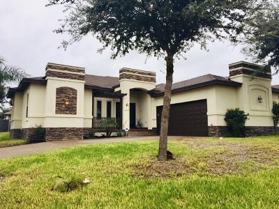 Laredo Single Family Home For Sale: 1117 Harcourt St