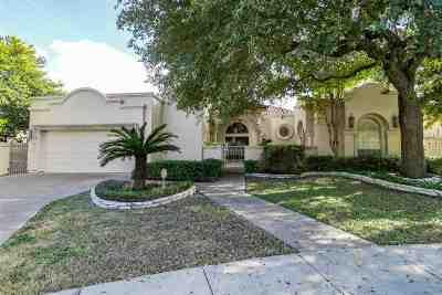 Laredo Single Family Home For Sale: 2409 Williams Ct