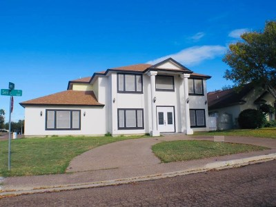 Laredo TX Single Family Home Back On Market: $245,000