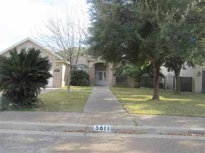 Laredo Single Family Home For Sale: 3611 Josefina Dr