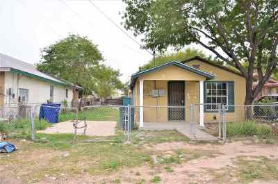 Laredo TX Single Family Home For Sale: $65,000