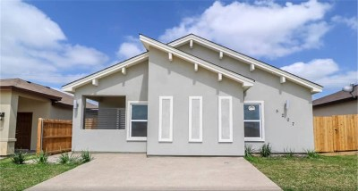 Laredo TX Single Family Home Active-Exclusive Agency: $172,500
