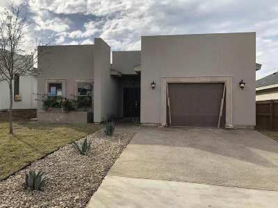 Laredo Single Family Home For Sale: 1614 Tabasco Dr