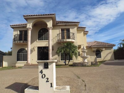 Laredo Single Family Home For Sale: 4021 Calle Tuxpan
