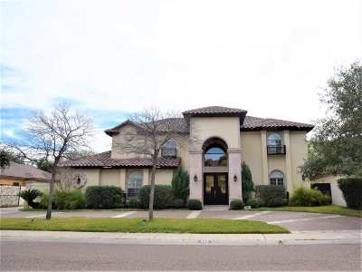 Laredo Single Family Home Active-Exclusive Agency: 405 Mayfair Dr
