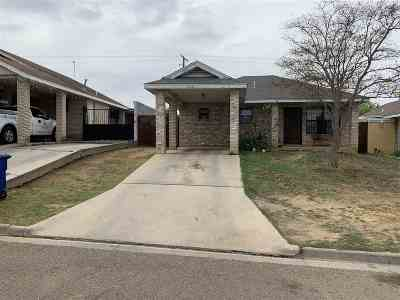 Laredo Single Family Home For Sale: 1018 Reagan Dr