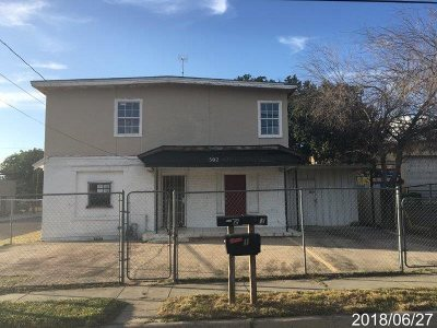 Laredo TX Single Family Home For Sale: $84,000