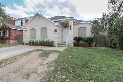 Laredo Single Family Home For Sale: 2824 Emory Lp