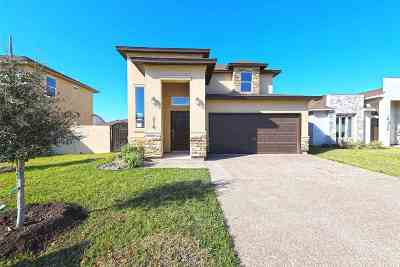 Laredo Single Family Home Active-Exclusive Agency: 218 John Irving Dr.