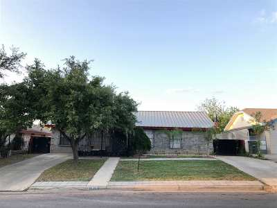 Single Family Home For Sale: 1420 Evergreen Dr