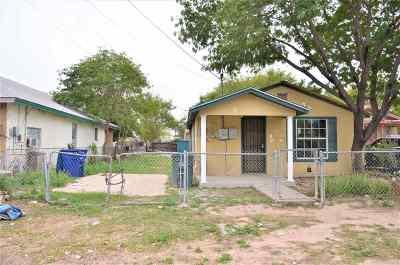 Laredo Single Family Home For Sale: 1807 Burnside St